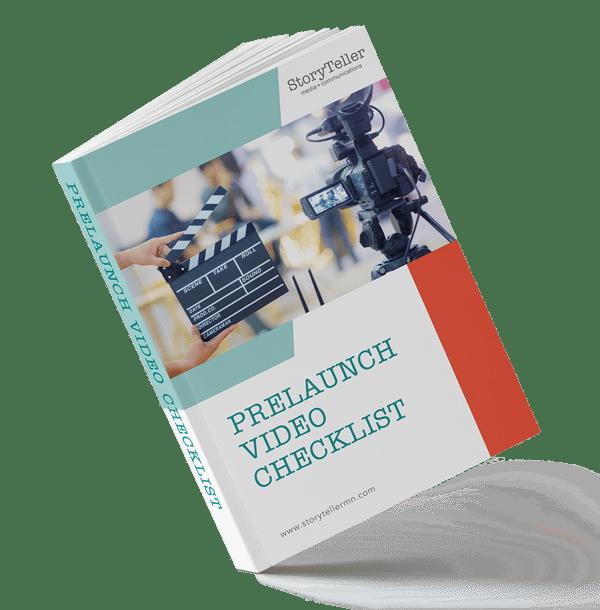 Pre-Launch Video Checklist Mockup