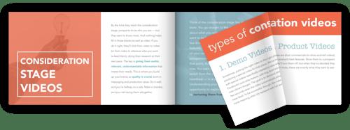 Types of Video Lookbook PDF Download | StoryTeller