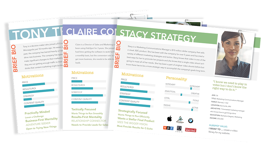 Be Customer Centric: Download This Free Buyer Persona Template