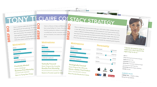 be customer centric download this free buyer persona template